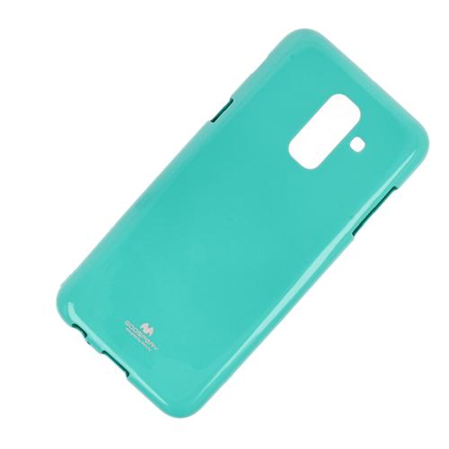 Etui Jelly Mercury Samsung A6+ 2018 miętowe
