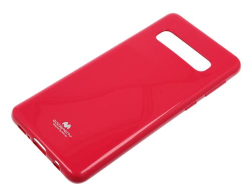 Etui Jelly case Mercury Samsung Galaxy S10 różowe