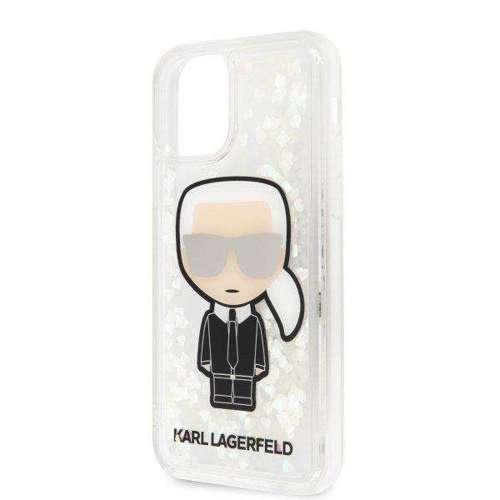 Etui Karl Lagerfeld KLHCN58GLGIRKL iPhone 11 Pro hardcase Ikonik Glitter Glow in the dark