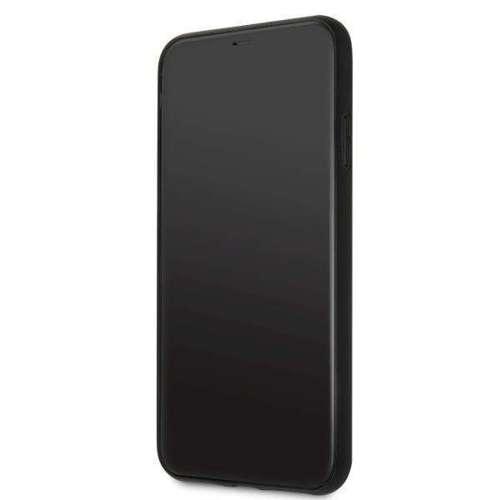 Etui Karl Lagerfeld KLHCN65DLHBK iPhone 11 Pro Max czarny/black Iconic Glitter Karl`s Head