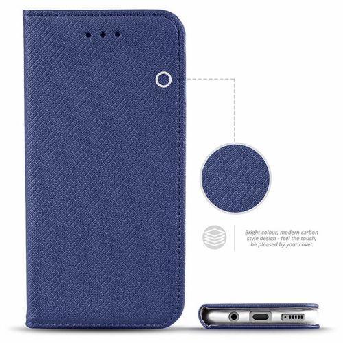 Etui LG K40S portfel z klapką Flip Magnet granatowe