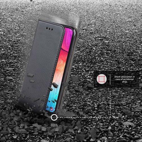 Etui MOTOROLA MOTO G8+ PLUS portfel z klapką Flip Magnet czarne