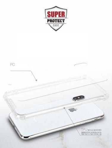 Etui Mercury Super Protect HUAWEI P20 LITE transparentne