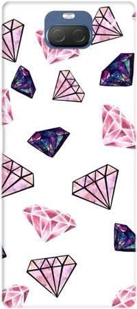 Etui ROAR JELLY różowe diamenty na Sony Xperia 10