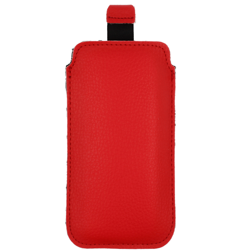 Etui SAMSUNG GALAXY A70 Kabura Eco Pull Up czerwone