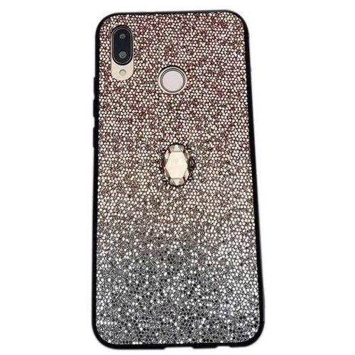 Etui SAMSUNG GALAXY S10 Stone Glitter złote