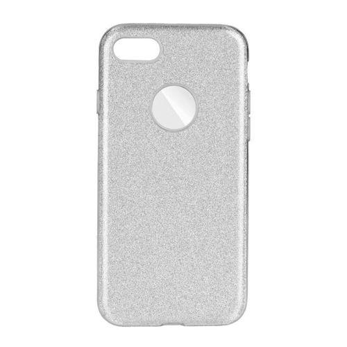 Etui SHINING iPhone Se 2020 srebrny