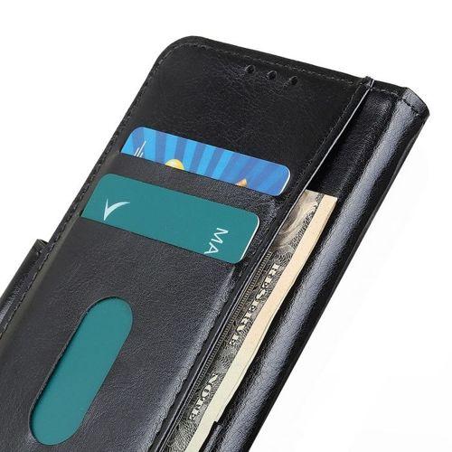 Etui Samsung Galaxy A71 Skórzane z klapką portfel Flip Magnet czarne