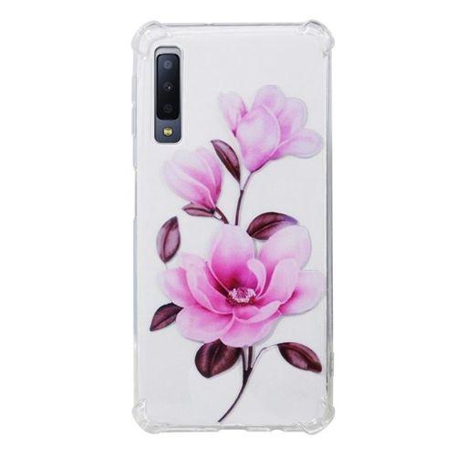 Etui Slim Art SAMSUNG A6 2018 VIVID kwiat