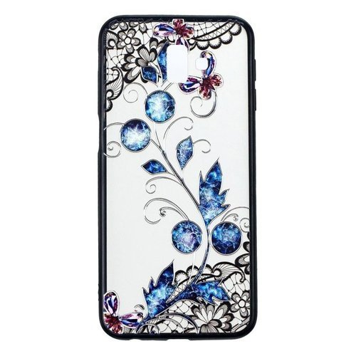 Etui Slim Art SAMSUNG J6+ J6 PLUS motyl i kwiat