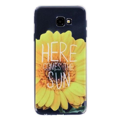 Etui Slim Art Samsung Galaxy J4+ J4 PLUS kwiat i cytat