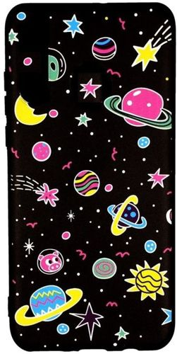 Etui Slim case Art HUAWEI P30 różowe planety