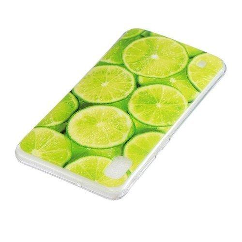 Etui Slim case Art SAMSUNG GALAXY A10 zielone cytryny