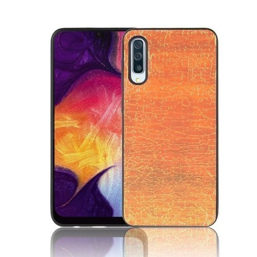 Etui Slim case Art SAMSUNG GALAXY A50 złote