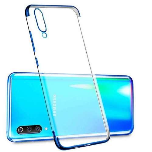 Etui Slim case Elegance SAMSUNG GALAXY A70 niebeskie