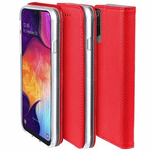 Etui XIAOMI MI A3 portfel z klapką Flip Magnet czerwone