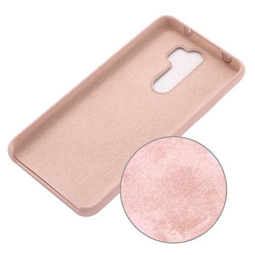 Etui XIAOMI MI NOTE 10 Silicone case elastyczne silikonowe różowe
