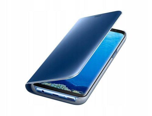 Etui XIAOMI MI9T MI 9T z klapką Clear View Cover niebieskie