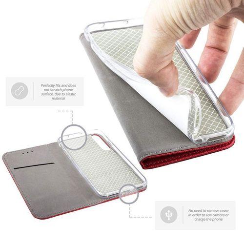 Etui XIAOMI REDMI 8 portfel z klapką Flip Magnet czerwone