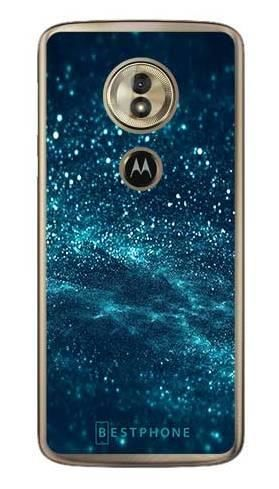 Etui brokatowy pył na Motorola Moto G6 Play