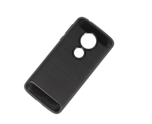 Etui carbon Motorola MOTO E5 czarne