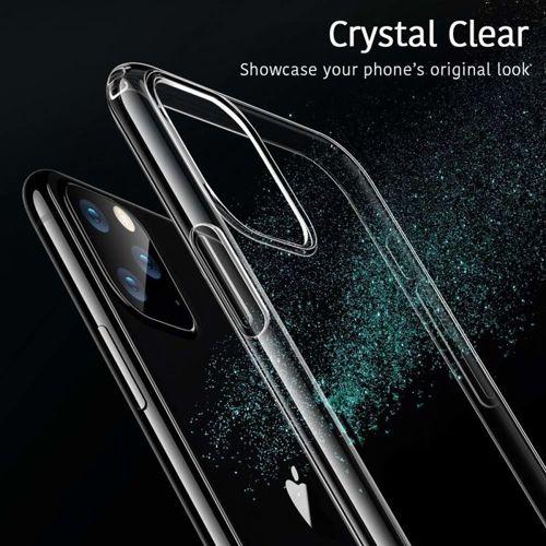Etui cienkie Slim case IPHONE 11 transparentne