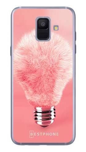 Etui futrzasta żarówka na Samsung Galaxy A6