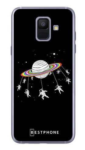 Etui karuzela na księżycu na Samsung Galaxy A6