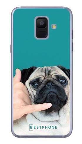 Etui mops call me na Samsung Galaxy A6