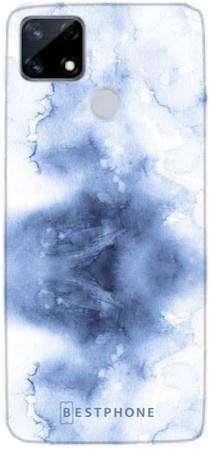 Etui niebieska akwarela na Realme 7i