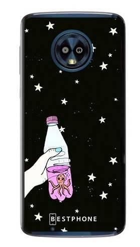 Etui ośmiornica w butece na Motorola Moto G6