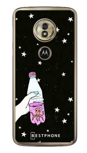 Etui ośmiornica w butece na Motorola Moto G6 Play