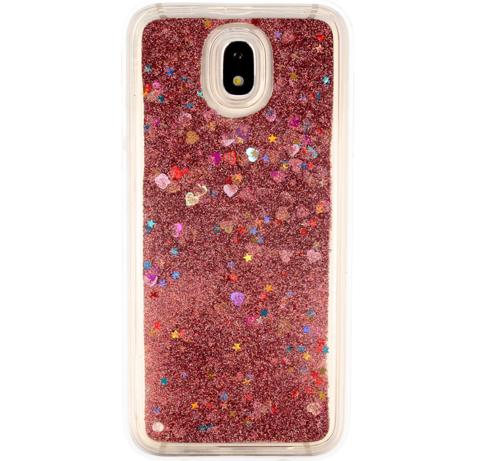 Etui plecki brokatowe Liquid Samsung Galaxy A20E różowe