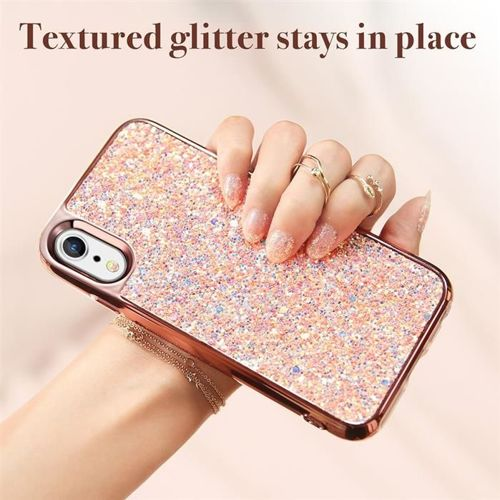 Etui pokrowiec ESR GLITTER IPHONE XR ROSE GOLD