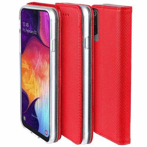 Etui portfel Flip Magnet XIAOMI REDMI 7A czerwone