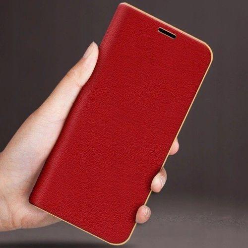 Etui portfel Nexeri Venus HUAWEI P SMART 2019 czerwone