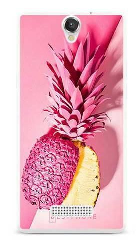 Etui pudrowy ananas na MyPhone Cube