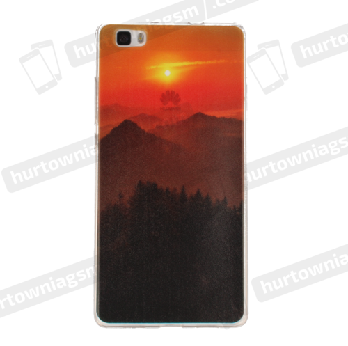 Etui slim case art SAMSUNG G530 wulkan