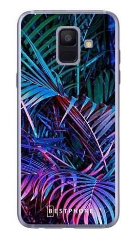 Etui tropikalne fluo na Samsung Galaxy A6