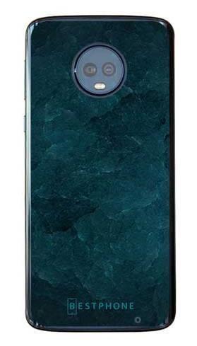 Etui turkusowy kamień na Motorola Moto G6 Plus