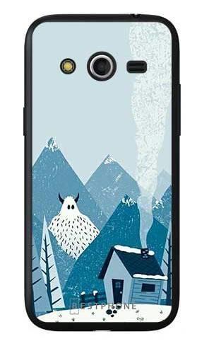 Etui yeti i góry na Samsung Galaxy Core LTE