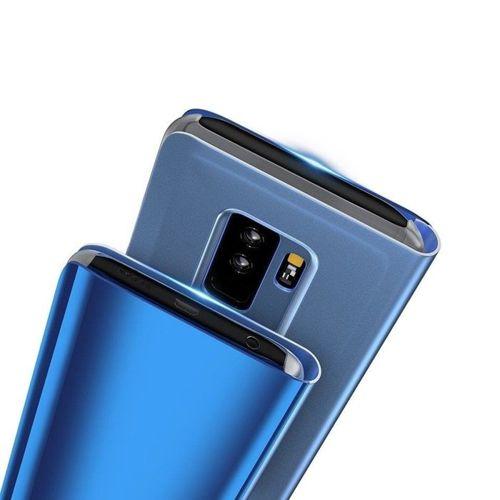 Etui z klapką Clear View Cover SAMSUNG GALAXY A50 niebieskie