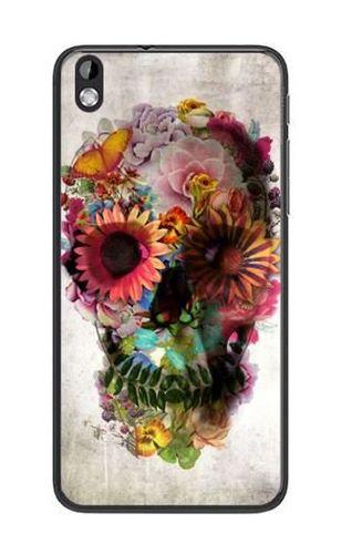 FANCY HTC Desire 816 czaszka kwiaty