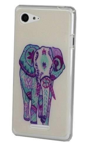 FANCY Samsung GALAXY ACE 3 słoń aztec