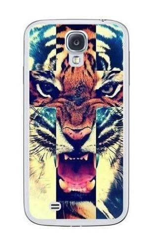FANCY Samsung GALAXY S4 tygrys krzyż