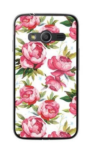 FANCY Samsung GALAXY TREND 2 LITE różowe kwiaty