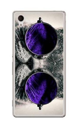 FANCY Sony XPERIA M4 AQUA kot w okularach