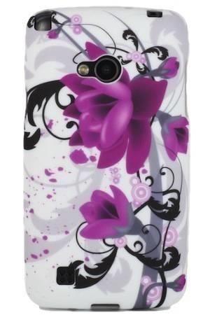 FLOWER LG L50 fioletowy kwiat