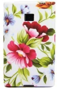 FLOWER LG SWIFT L3 pastelowe kwiatki