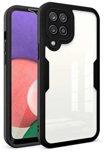 FULL BODY 360 pancerne etui pokrowiec Samsung Galaxy A12 czarny